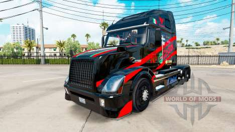 Скин Castrol на тягач Volvo VNL 670 для American Truck Simulator