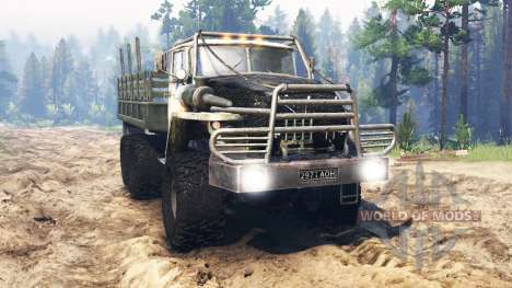 Урал-4320-10 СССР для Spin Tires