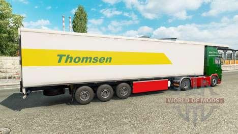 Скин Thomsen на полуприцеп для Euro Truck Simulator 2