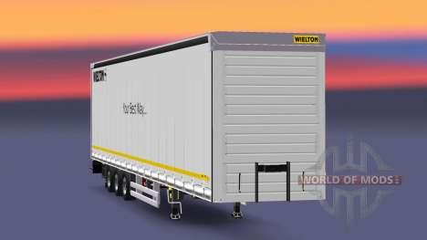 Полуприцеп Wielton Your Best Way для Euro Truck Simulator 2