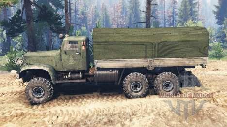 КрАЗ-214 v2.0 для Spin Tires