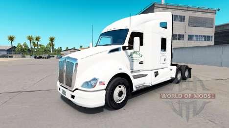 Скин Howells Motor на тягач Kenworth для American Truck Simulator