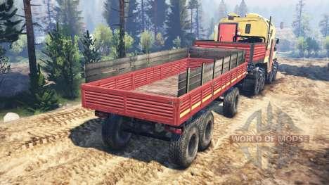 Урал-6614 v4.0 для Spin Tires