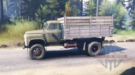ГАЗ-53 v2.0 для Spin Tires