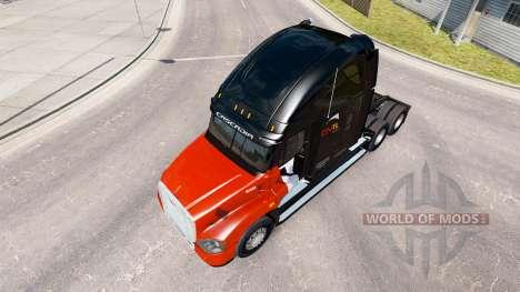 Скин CNTL на тягач Freightliner Cascadia для American Truck Simulator