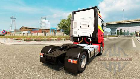 Скин Simon Loos на тягач Mercedes-Benz для Euro Truck Simulator 2