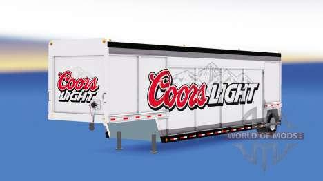 Полуприцеп для перевозки напитков для American Truck Simulator