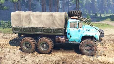 ЗиЛ-165 [болотное чудище] для Spin Tires