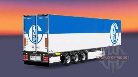 Полуприцеп Chereau FC Schalke 04 для Euro Truck Simulator 2