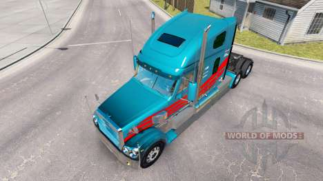 Скин на тягач Freightliner Coronado для American Truck Simulator