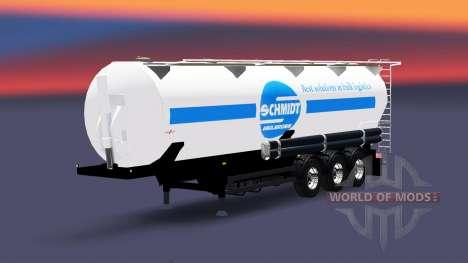 Полуприцеп-цистерна Schmidt Heilbronn для Euro Truck Simulator 2