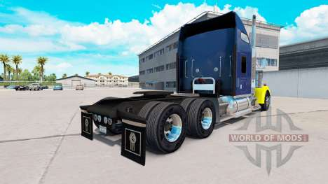 Скин Hard Truck на тягач Kenworth W900 для American Truck Simulator