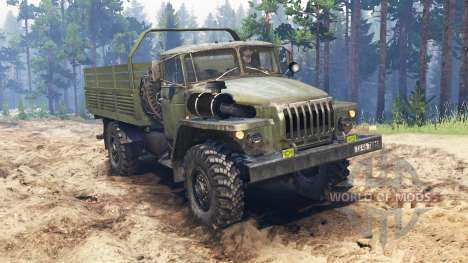 Урал-43206-10 для Spin Tires