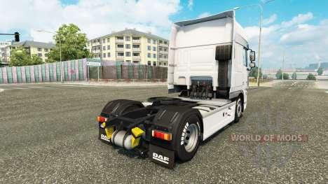 Скин Schmidt Heilbronn на тягач DAF для Euro Truck Simulator 2