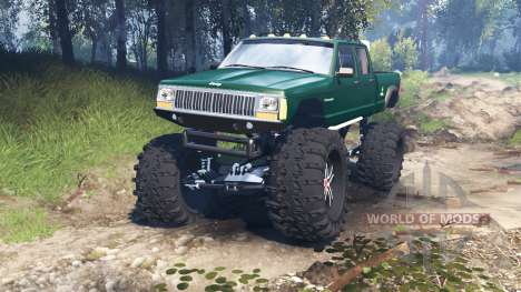 Jeep Grand Cherokee Comanche 4x4 v3.0 для Spin Tires