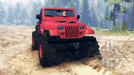 Jeep Wrangler (YJ) для Spin Tires