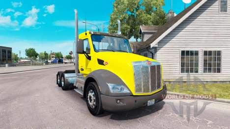 Скин Sweet Pete Day Cab на тягач Peterbilt для American Truck Simulator