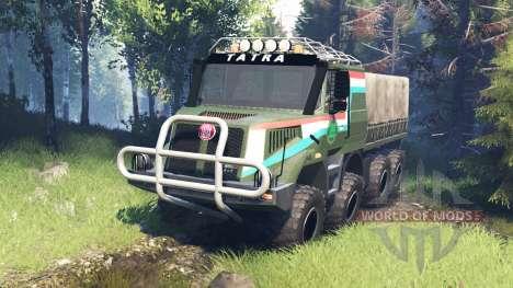 Tatra 163 Jamal 8x8 v7.0 для Spin Tires