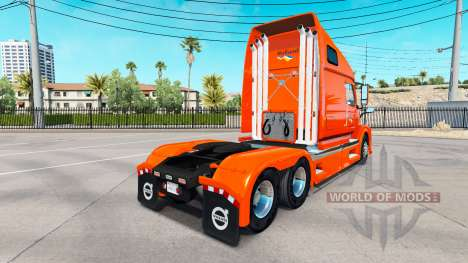 Скин Holland на тягач Volvo VNL 670 для American Truck Simulator