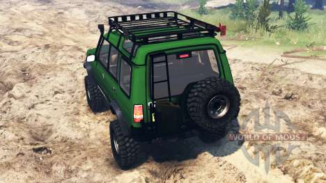 Land Rover Discovery v2.0 для Spin Tires
