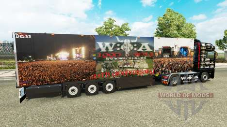 Полуприцеп Schmitz Cargobull 25 Jahre Wacken для Euro Truck Simulator 2