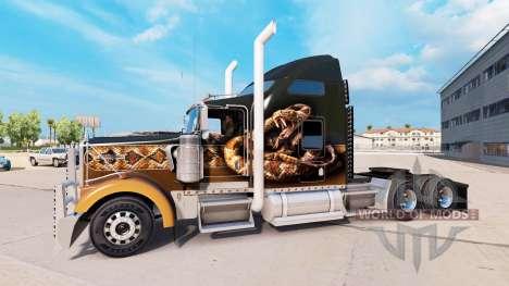 Тюнинг для Kenworth W900 для American Truck Simulator