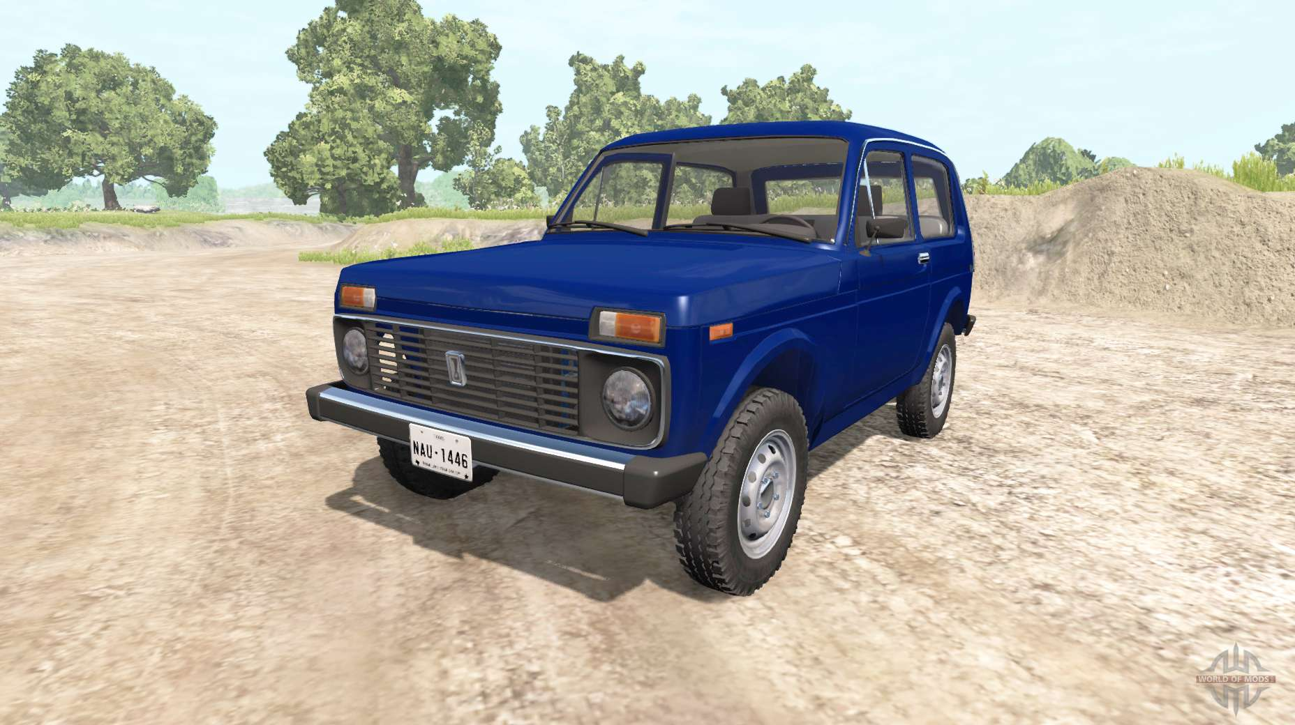 ВАЗ2121 Нива для beamng drive