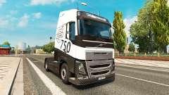 Скин Carbonne на тягач Volvo