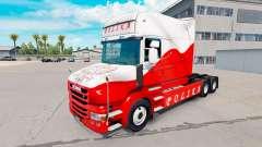 Скин Airbrash Polska на тягач Scania T