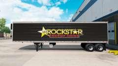 Скин Rockstar Energy на полуприцеп-рефрижератор