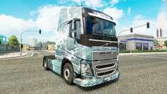 Скин Ice Road на тягач Volvo