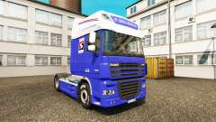 Скин P.Solleveld Transport на тягач DAF