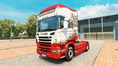 Скин Sarantos на тягач Scania