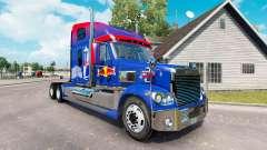 Скин Red Bull на тягач Freightliner Coronado