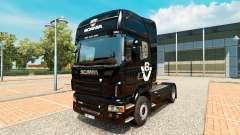 Скин Scania V8 на тягач Scania