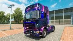 Скин Desktop oGrafhic на тягач Scania