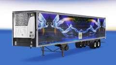 Скин CS Logistics 02 на полуприцеп-рефрижератор