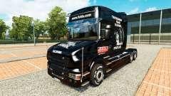 Скин Fulda на тягач Scania T