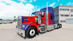 Скин Optimus Prime на тягач Kenworth W900
