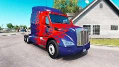 Скин Optimus Prime на тягач Peterbilt
