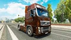 Скин Ferrugem на тягач Volvo
