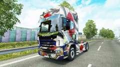 Скин Japao Copa 2014 на тягач Scania