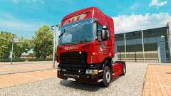 Скин America Latina Logistica на тягач Scania