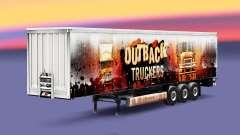 Скин Outback Truckers на полуприцеп