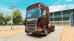Скин Ferrugem v2.0 на тягач Scania