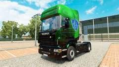Скин Exclusive Metallic на тягач Scania