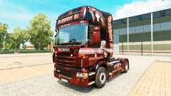 Скин Support 81 на тягач Scania