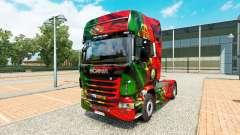 Скин Portugal Copa 2014 на тягач Scania