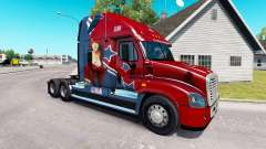 Скин Mandy на тягач Freightliner Cascadia