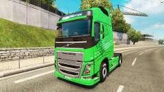 Скин Green Arrow на тягач Volvo